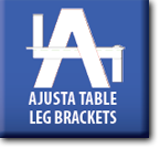 Ajusta Table Leg Brackets : Products logo